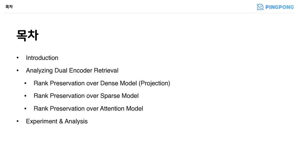 ݾର ݾର • Introduction • Analyzing Dual Encoder R...