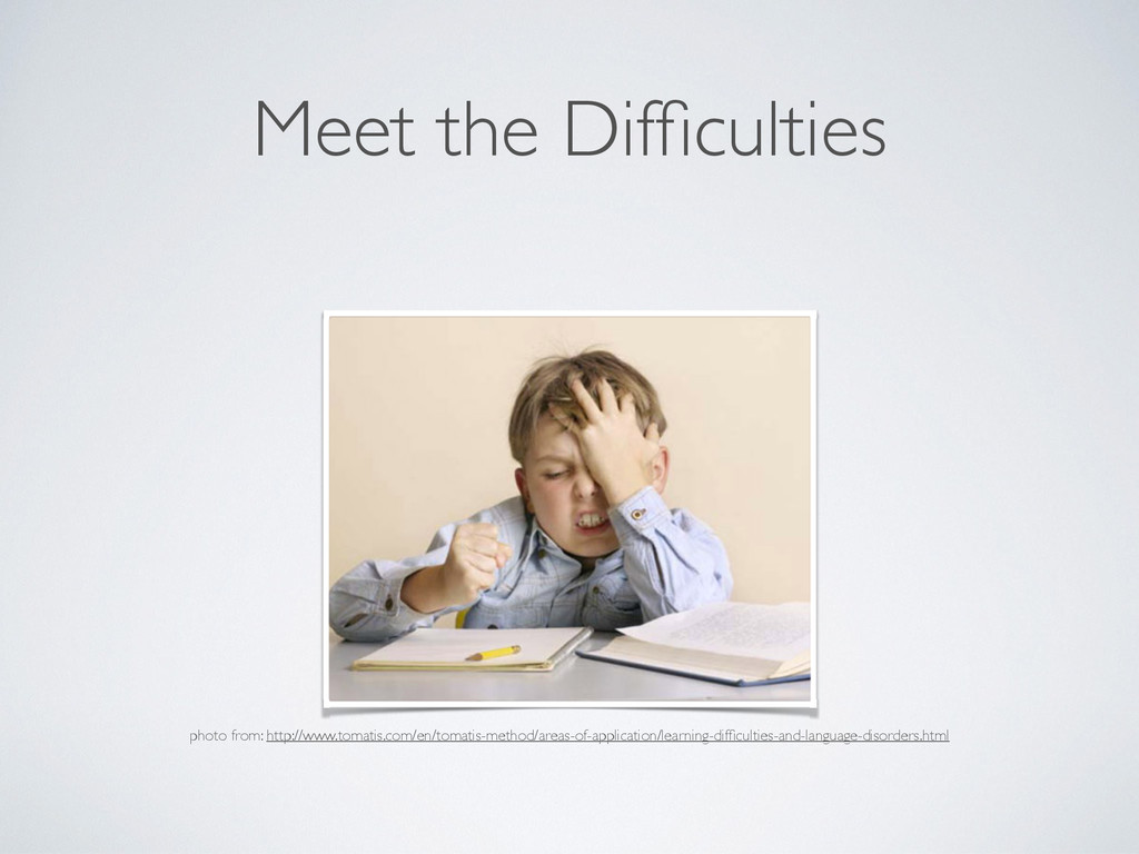 Meet the Difficulties photo from: http://www.tom...
