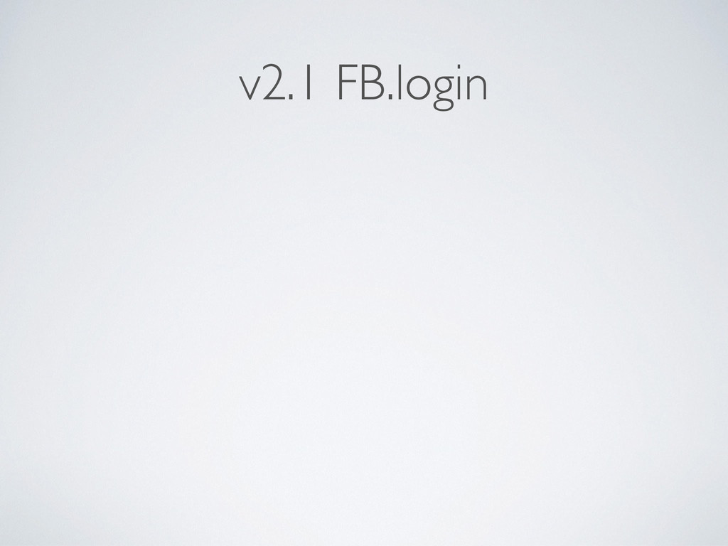 v2.1 FB.login