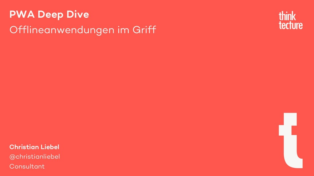 PWA Deep Dive Offlineanwendungen im Griff Chris...
