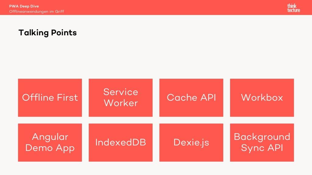 Offline First Service Worker Cache API Workbox ...