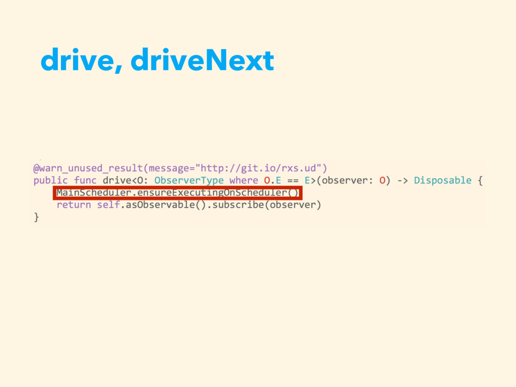 drive, driveNext