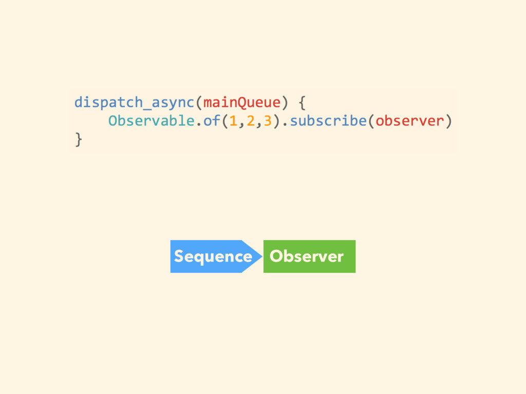 Sequence Observer