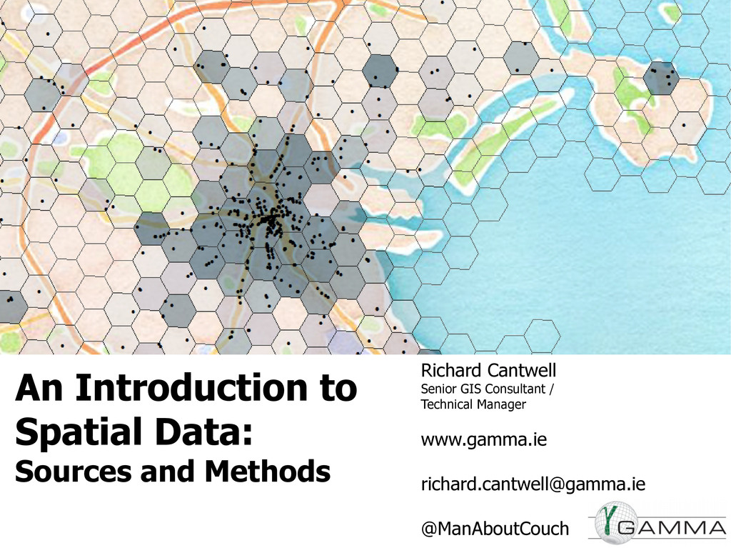 An Introduction to Spatial Data: Sources and Me...