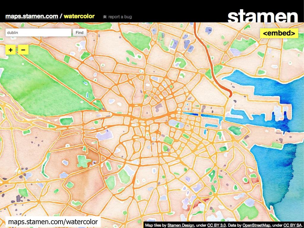 maps.stamen.com/watercolor