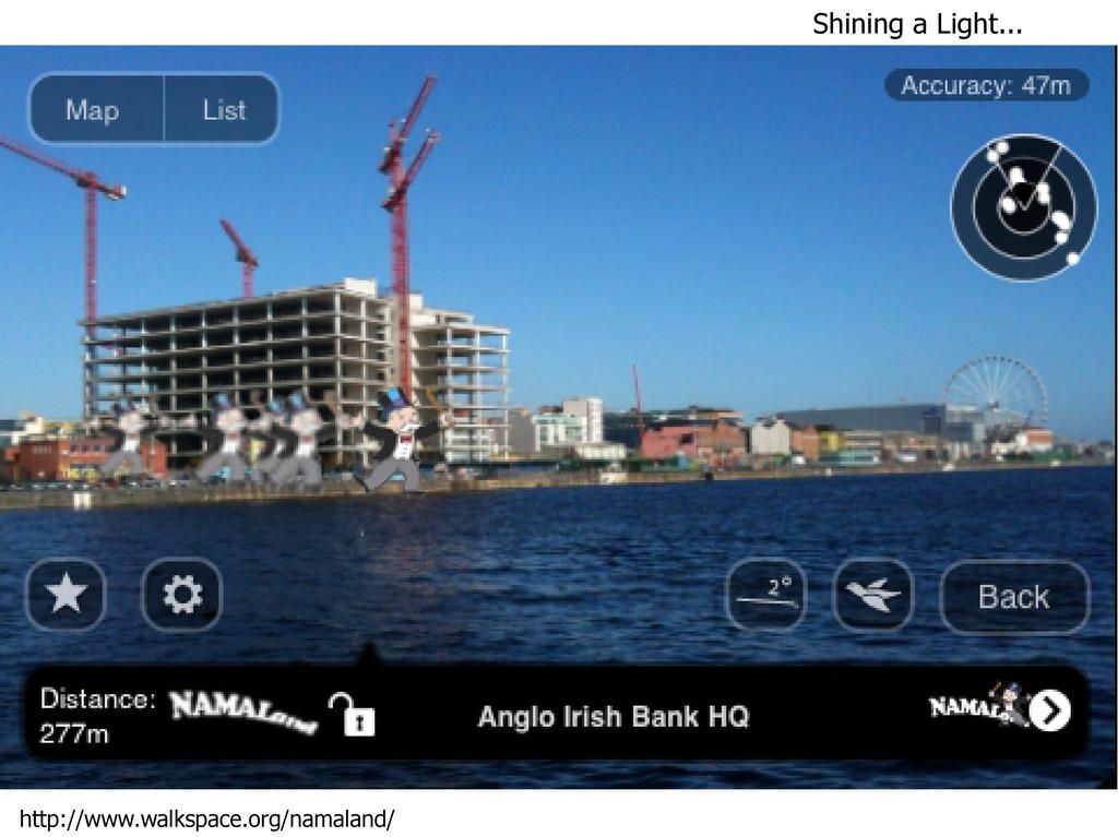 Shining a Light... http://www.walkspace.org/nam...