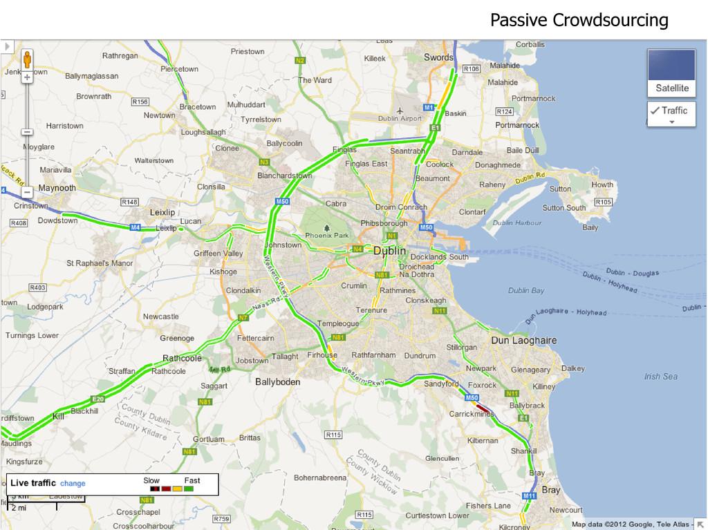 Passive Crowdsourcing