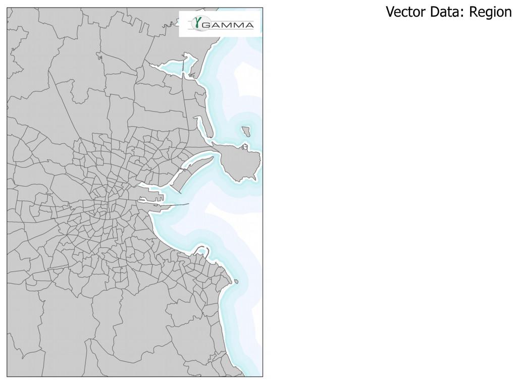 Vector Data: Region