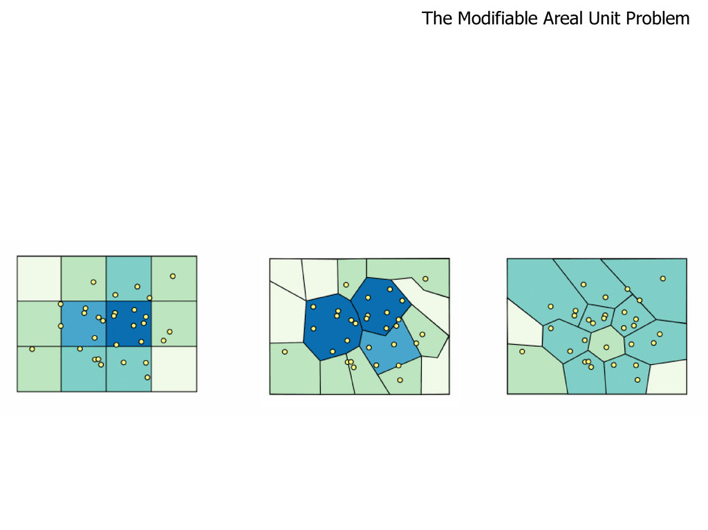 The Modifiable Areal Unit Problem