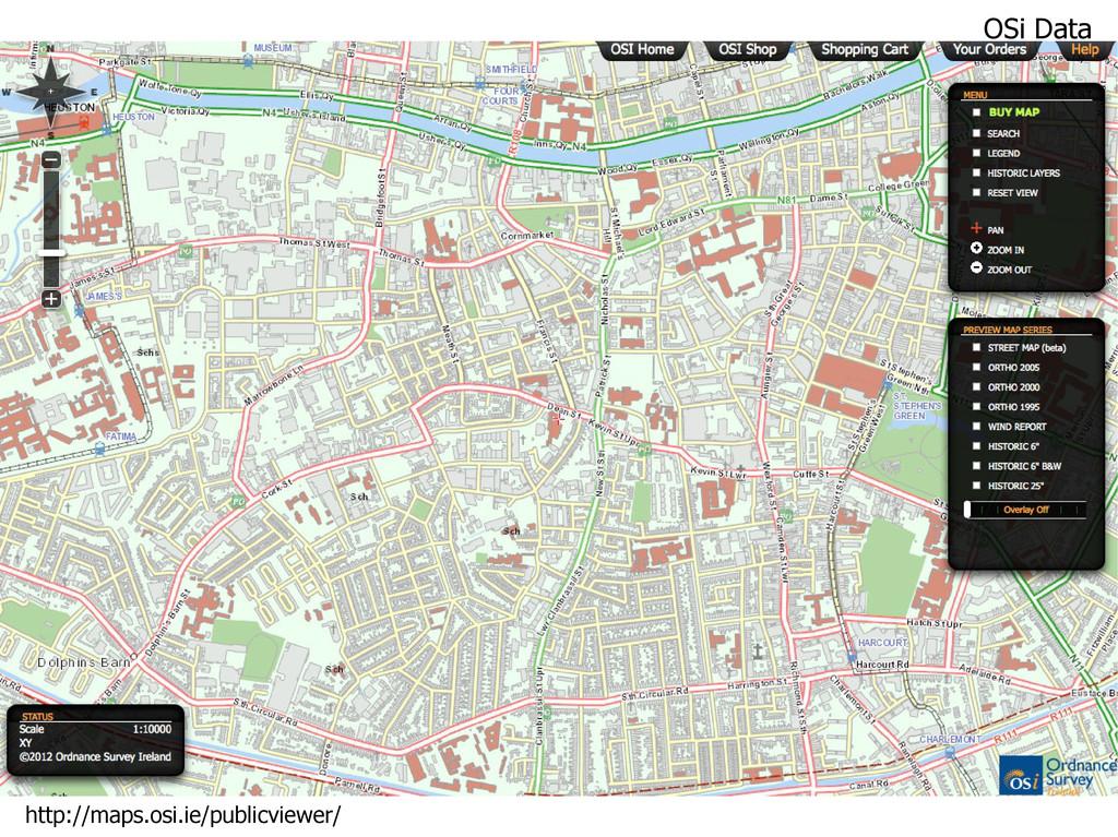 OSi Data http://maps.osi.ie/publicviewer/