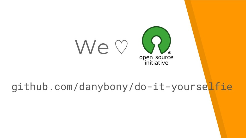 We ♡ github.com/danybony/do-it-yourselfie