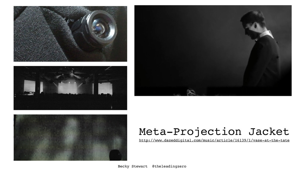 Meta-Projection Jacket http://www.dazeddigital....