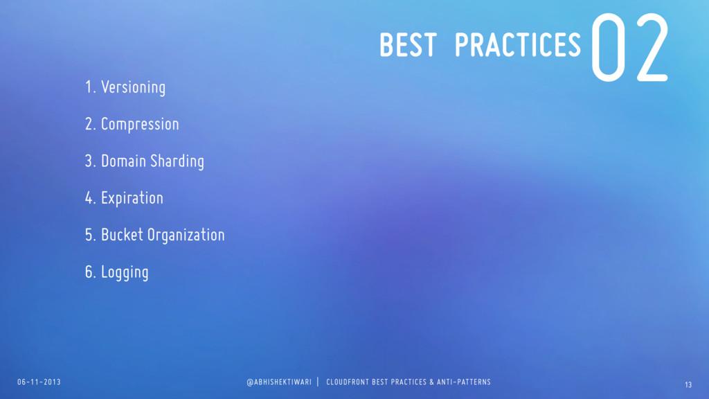 06-11-2013 @ABHISHEKTIWARI | CLOUDFRONT BEST PR...