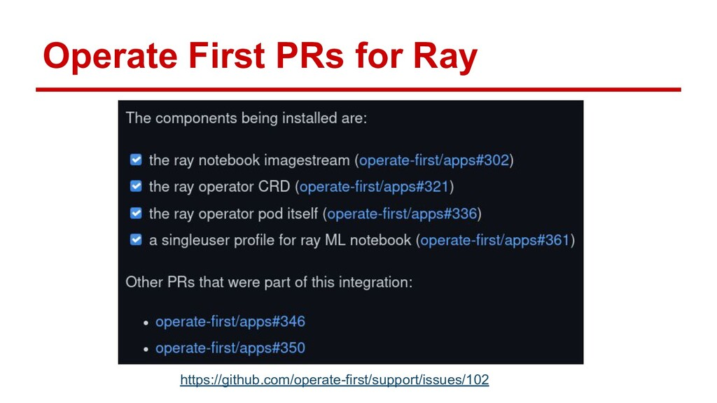 Operate First PRs for Ray https://github.com/op...