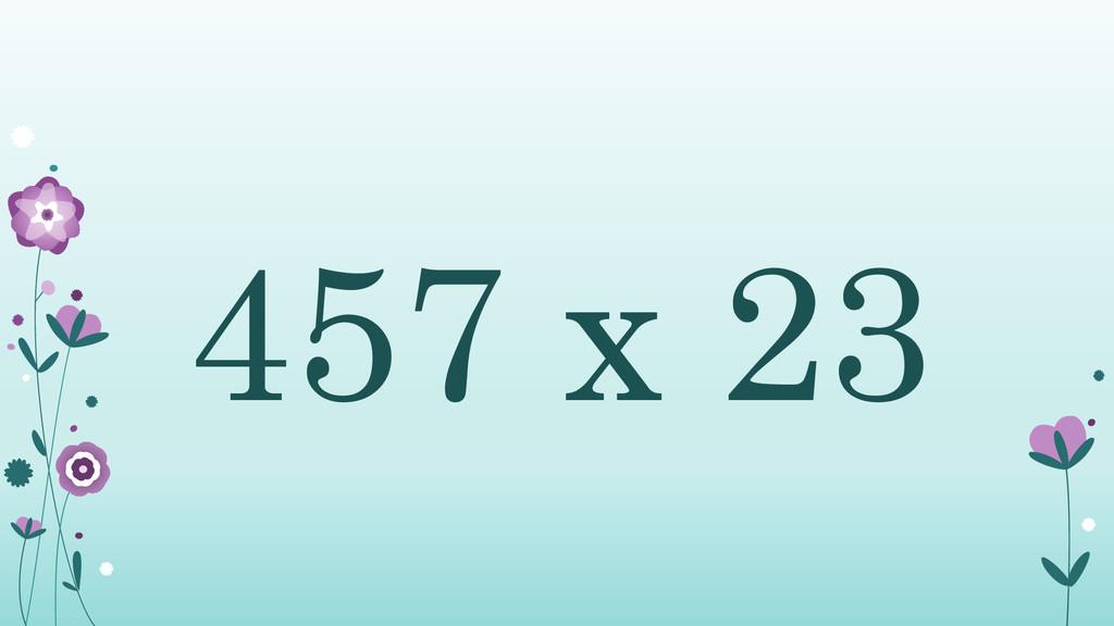 457 x 23