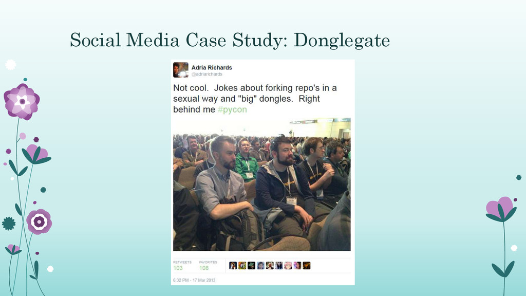 Social Media Case Study: Donglegate