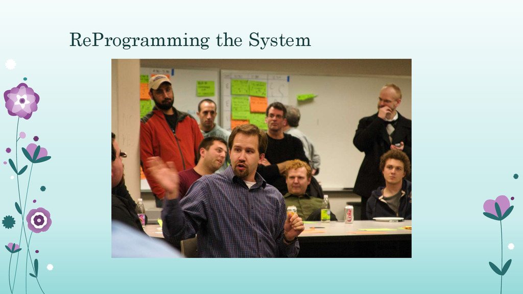 ReProgramming the System