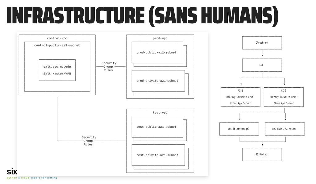 INFRASTRUCTURE (SANS HUMANS) INFRASTRUCTURE (SA...