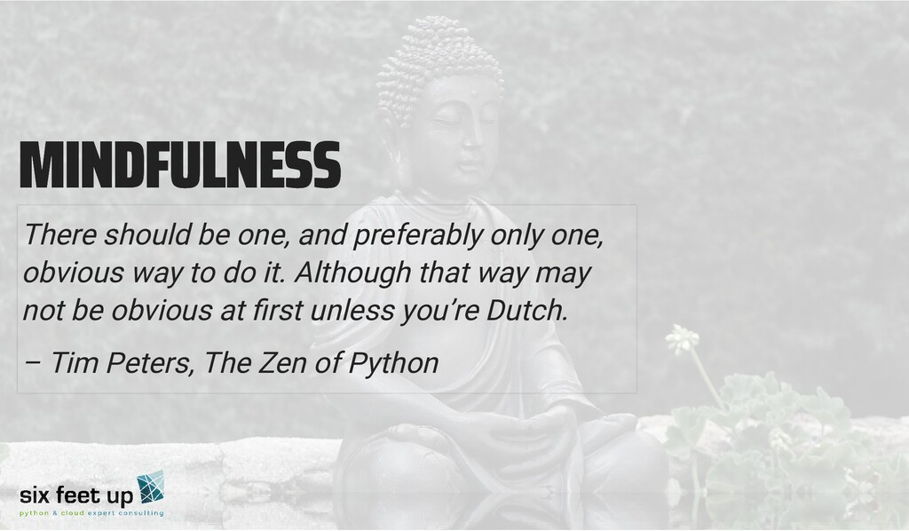 MINDFULNESS MINDFULNESS There should be one, an...