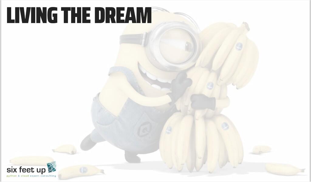 LIVING THE DREAM LIVING THE DREAM
