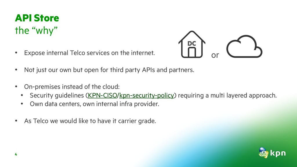 4 • Expose internal Telco services on the inter...