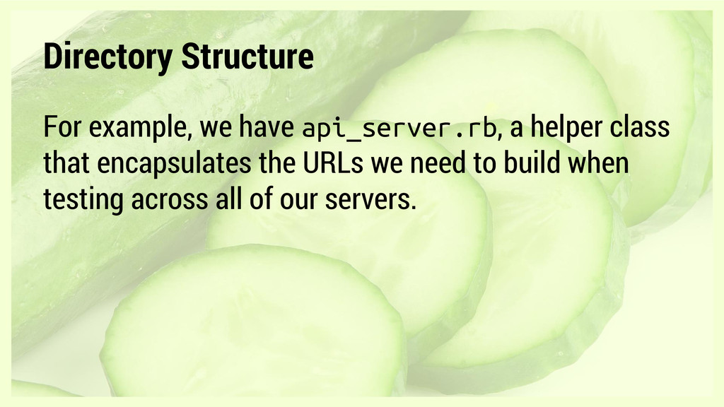 Directory Structure For example, we have api_se...