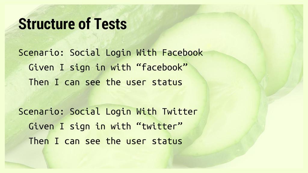 Scenario: Social Login With Facebook Given I si...