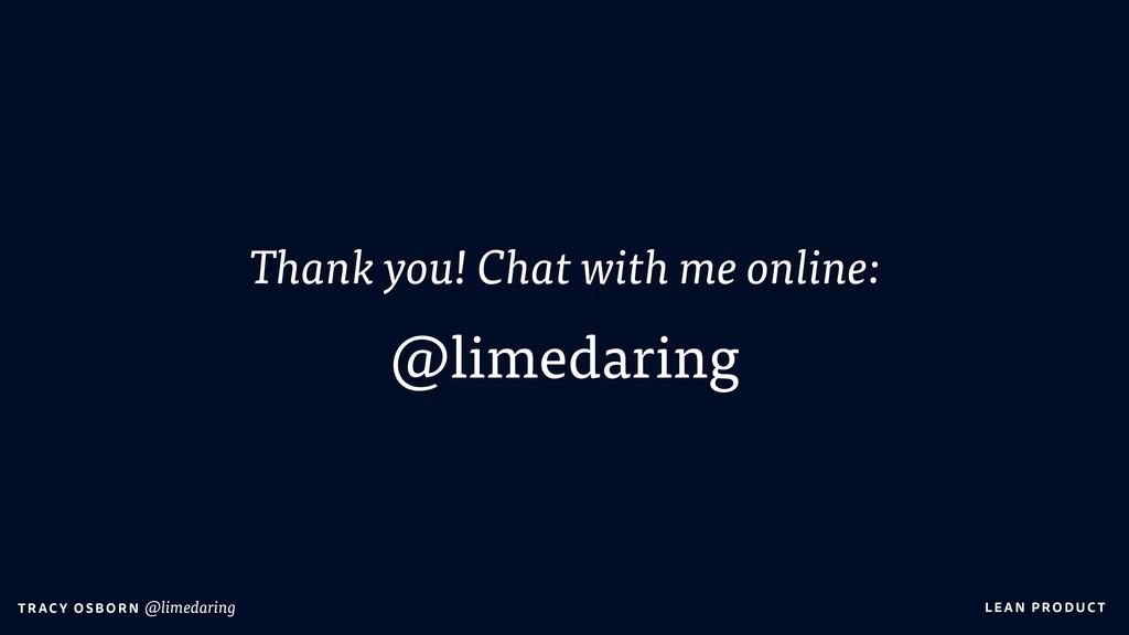 LEAN PRO DU CT T RAC Y O S B OR N @limedaring T...