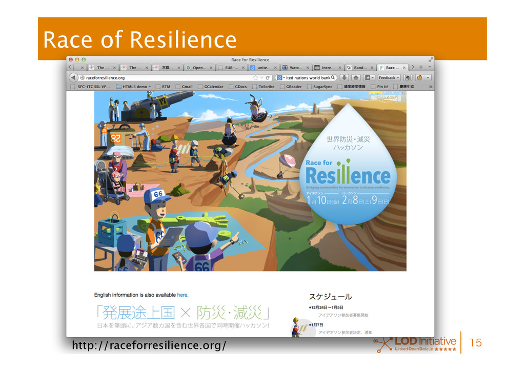 Race of Resilience  http://raceforresilienc...
