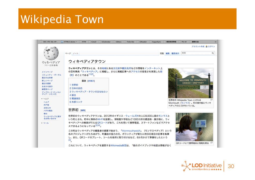 Wikipedia Town
