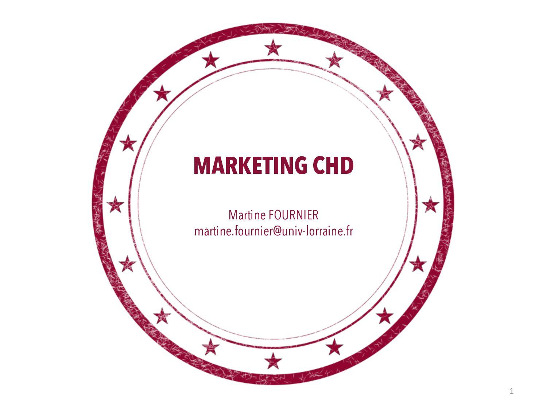 COMPORTEMENT DU CONSOMMATEUR Martine FOURNIER m...