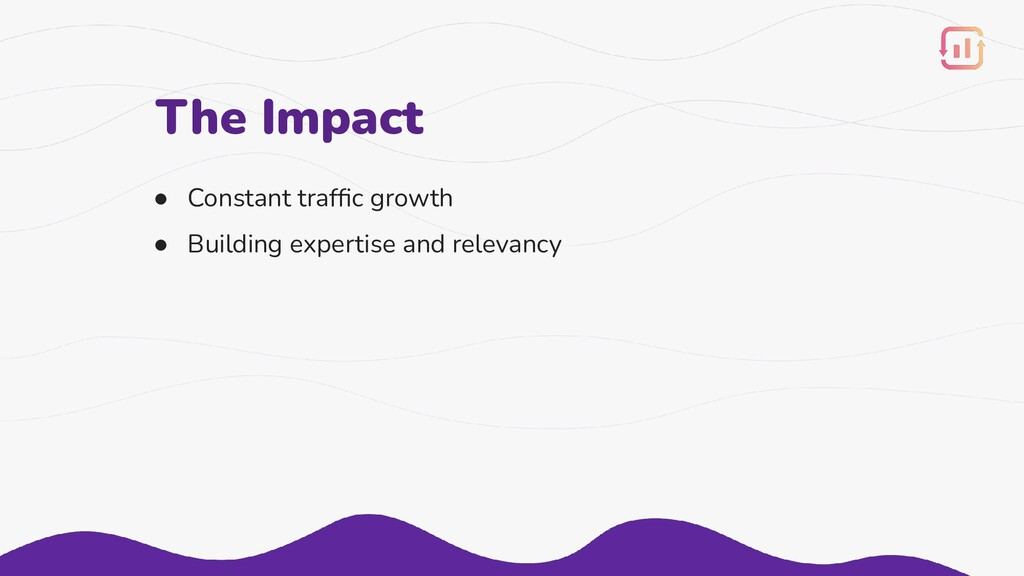 ● Constant traffic growth ● Building expertise a...
