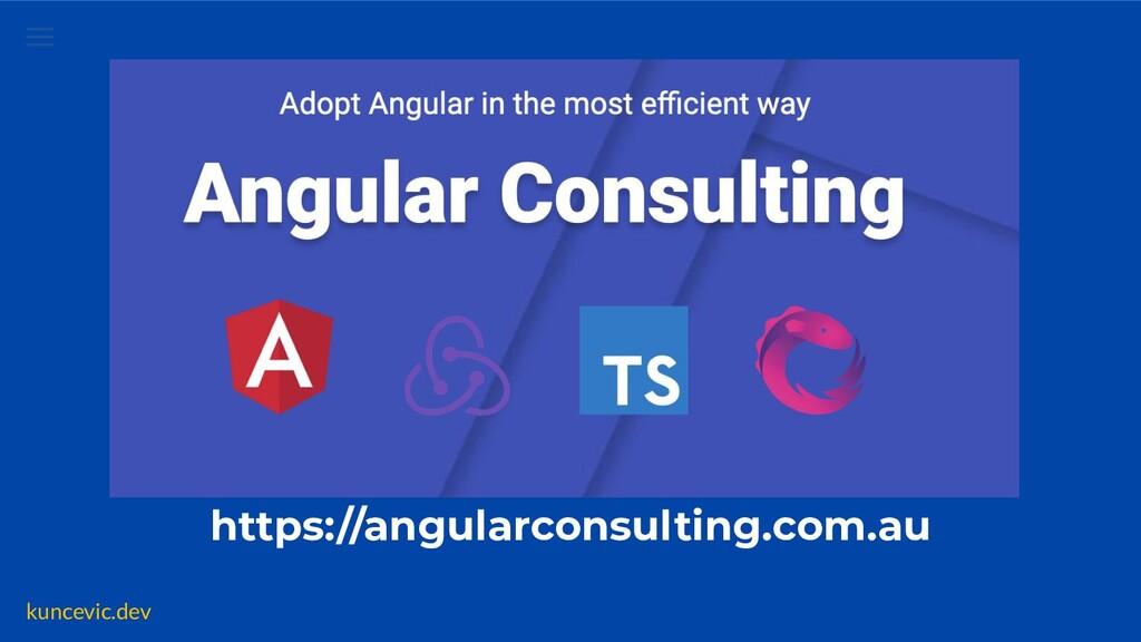 kuncevic.dev https://angularconsulting.com.au