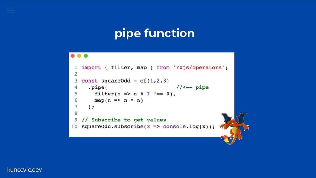 kuncevic.dev pipe function