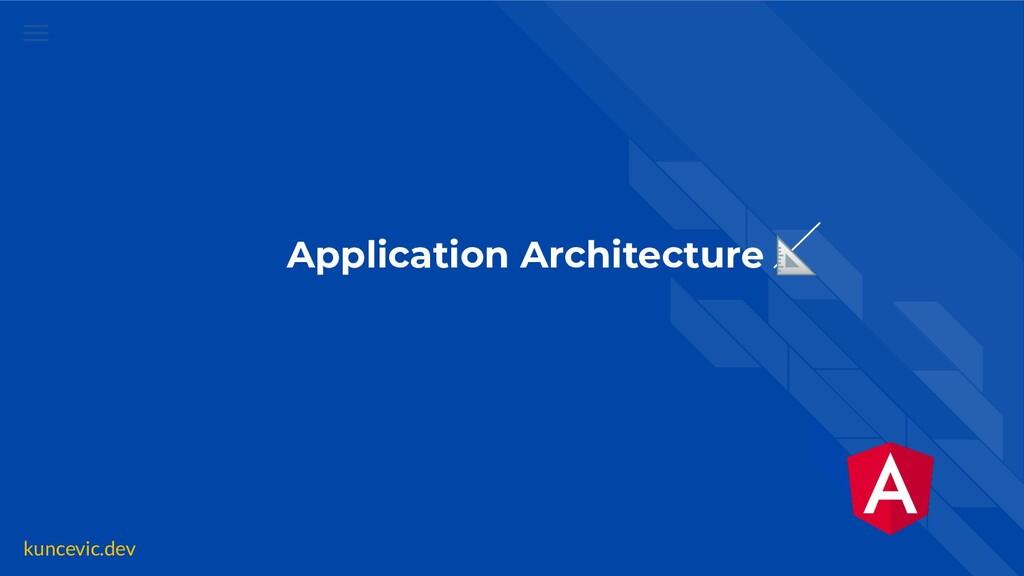 kuncevic.dev Application Architecture