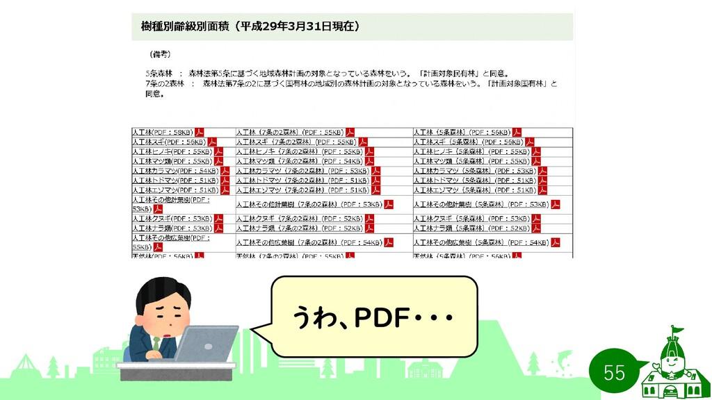 うわ、PDF・・・ 55