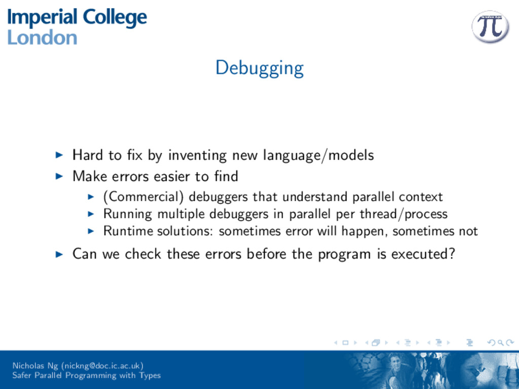 Debugging Hard to fix by inventing new language/...