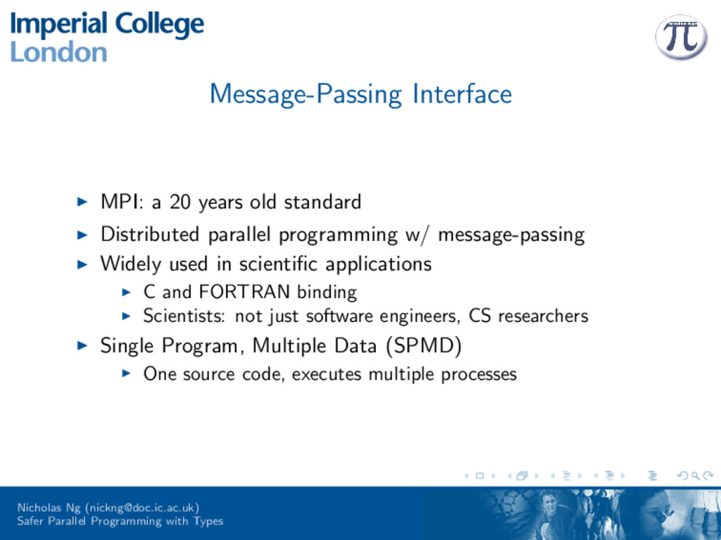 Message-Passing Interface MPI: a 20 years old s...