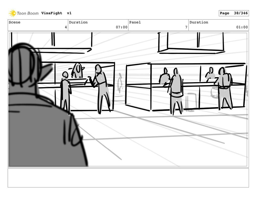 Scene 4 Duration 07:00 Panel 7 Duration 01:00 V...