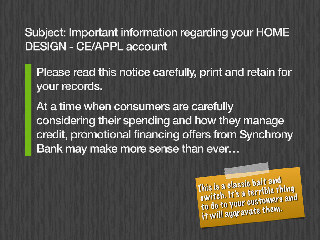 Please read this notice carefully, print and re...