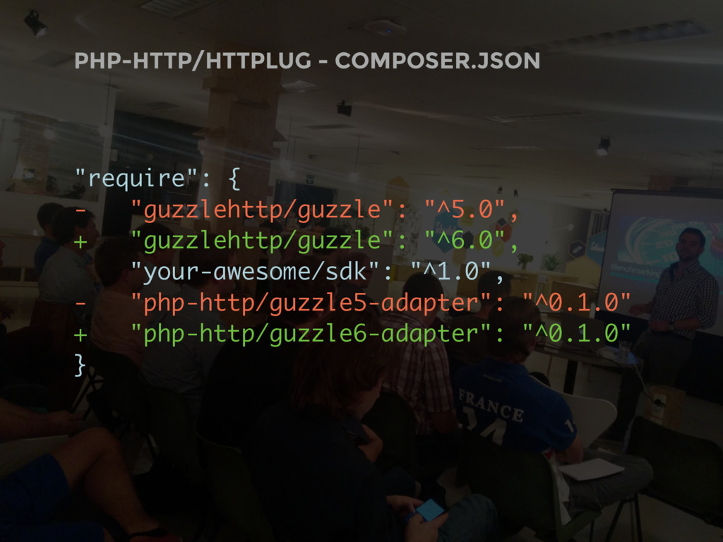 """PHP-HTTP/HTTPLUG - COMPOSER.JSON """"require"""": { -..."""
