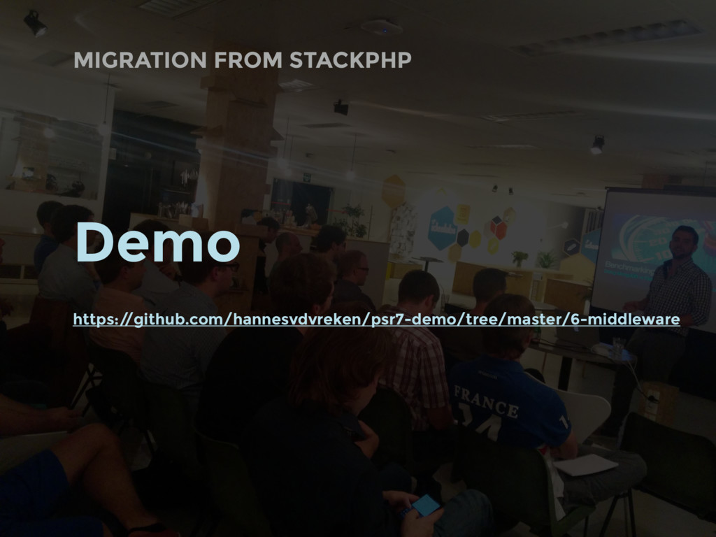 MIGRATION FROM STACKPHP Demo https:/ /github.co...