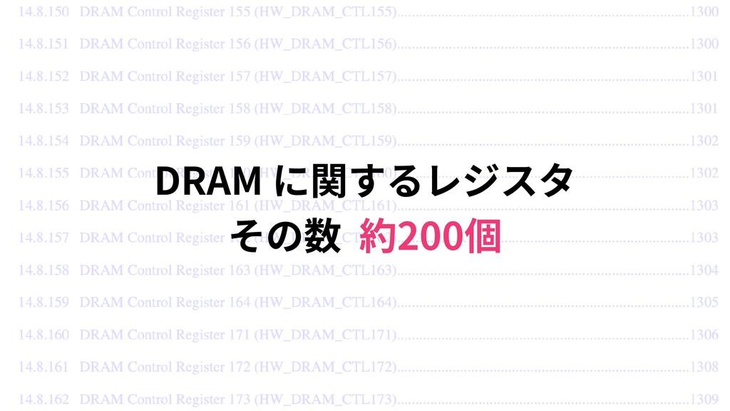 DRAM  200