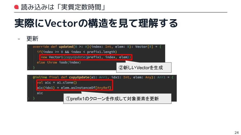 読み込みは「実質定数時間」 実際にVectorの構造を見て理解する - 更新 24 ①pref...