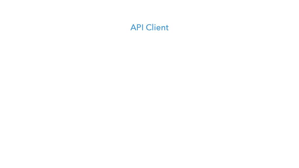 API Client
