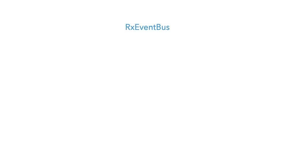 RxEventBus