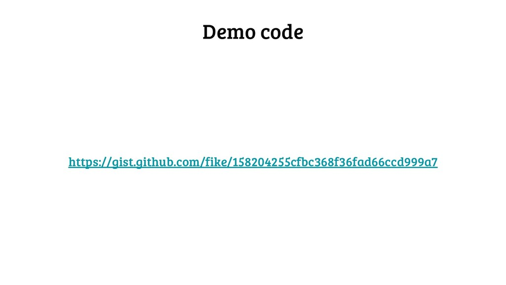 Demo code https://gist.github.com/fike/15820425...