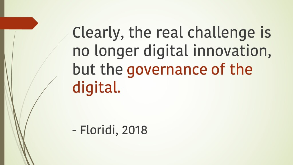 Clearly, the real challenge is no longer digita...