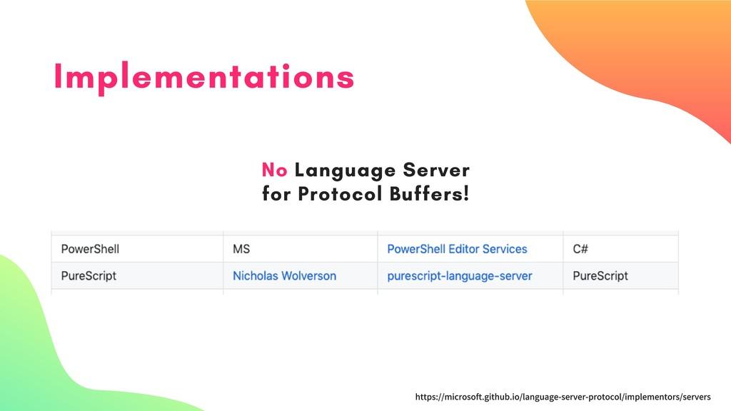 Implementations https://microsoft.github.io/lan...