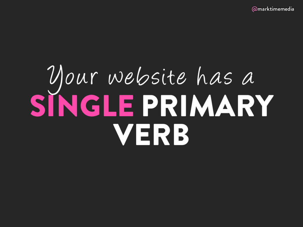 @marktimemedia Your website has a SINGLE PRIMAR...